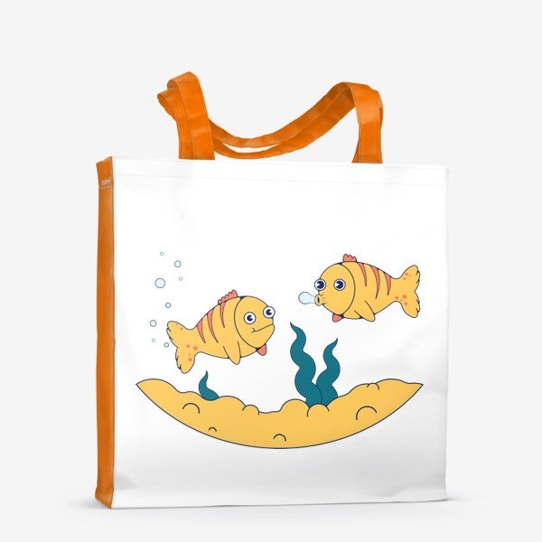 Сумка-шоппер «Золотые рыбки»