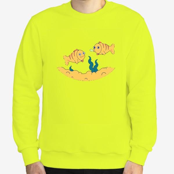 Свитшот «Золотые рыбки»