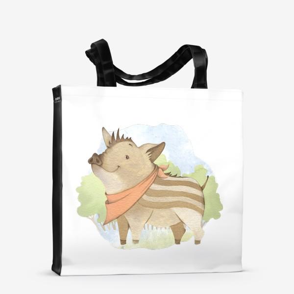 Сумка-шоппер «Лесной поросенок »