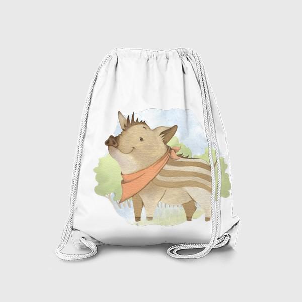 Рюкзак «Лесной поросенок »