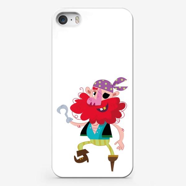 Чехол iPhone «Веселый одноногий пират»
