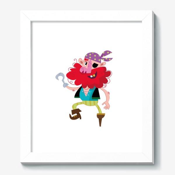 Картина «Веселый одноногий пират»