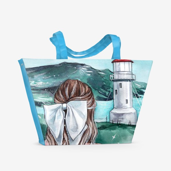 Пляжная сумка «изумрудна страна»