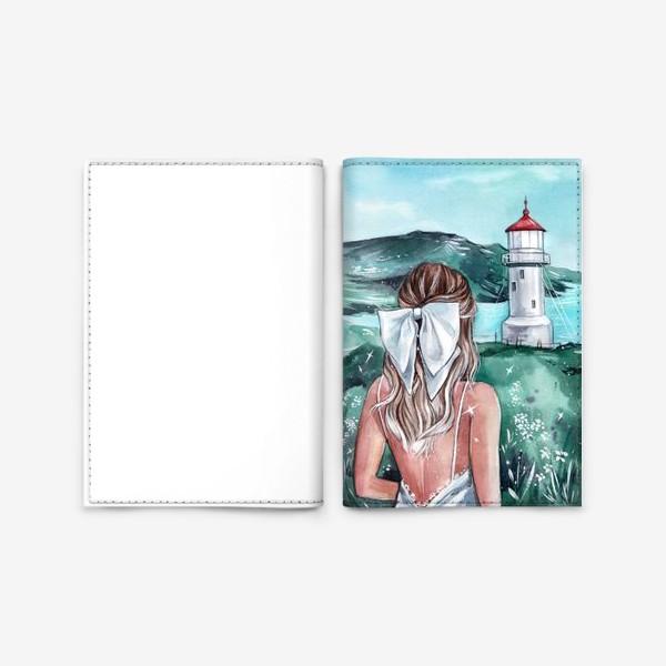 Обложка для паспорта «изумрудна страна»