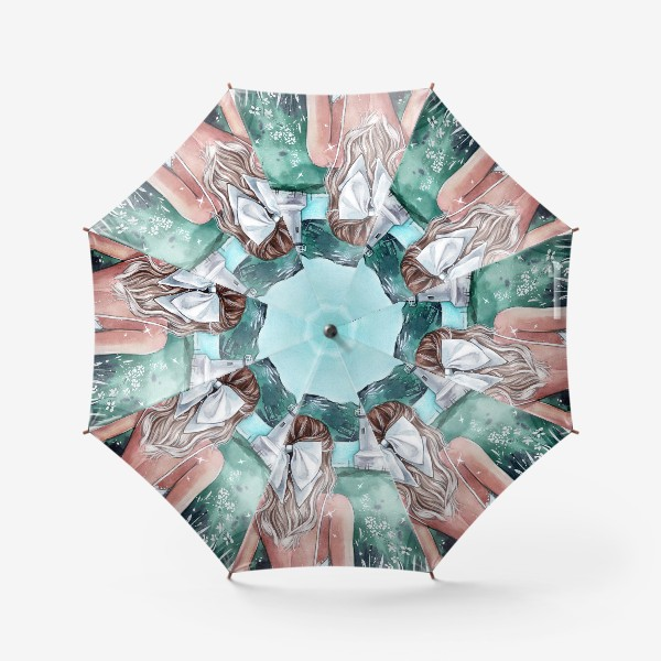 Зонт «изумрудна страна»