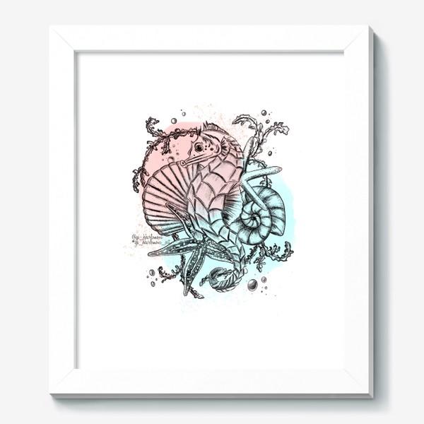 Картина «Морской мир. Конёк »