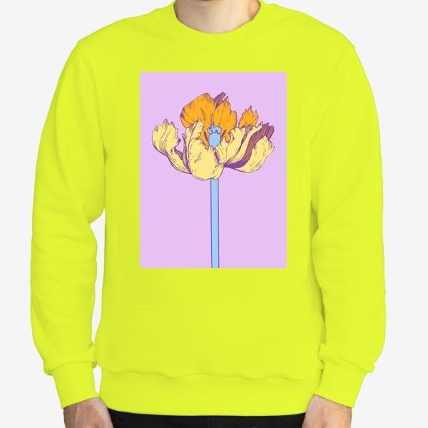 Свитшот «Желтый тюльпан»