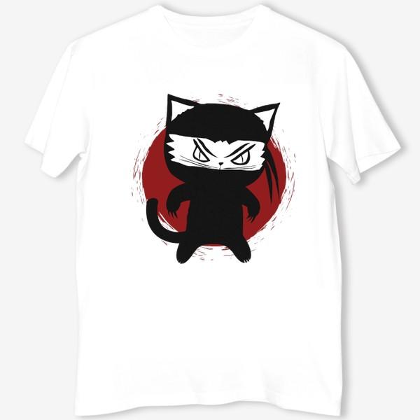 Футболка «Ninja Cat»