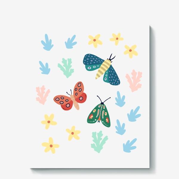 Холст «Бабочки »