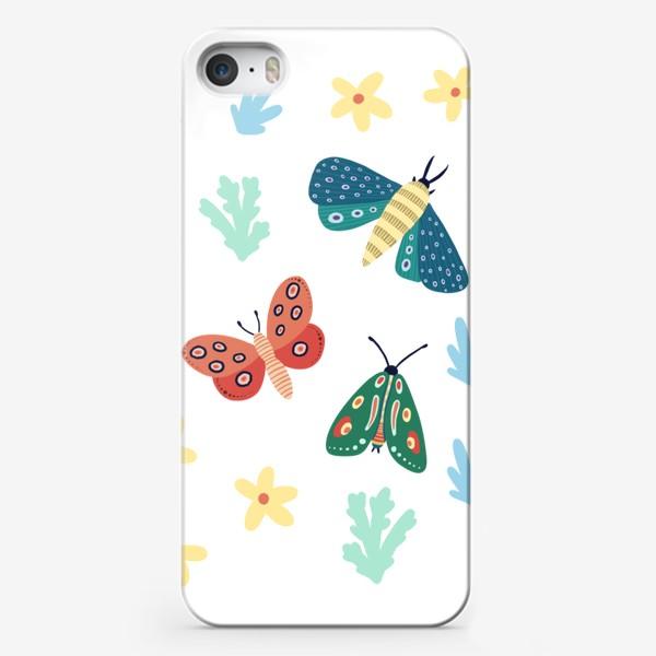 Чехол iPhone «Бабочки »
