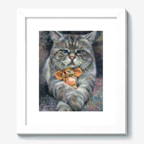 Картина «Кот и мышка»