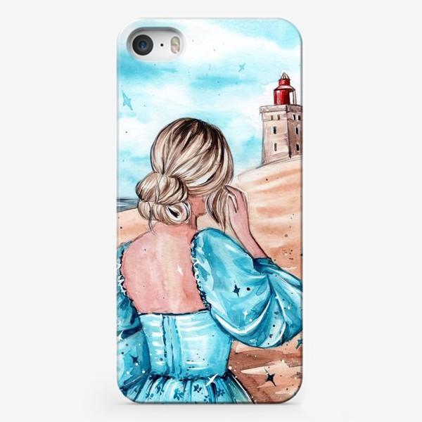 Чехол iPhone «голубые грёзы»