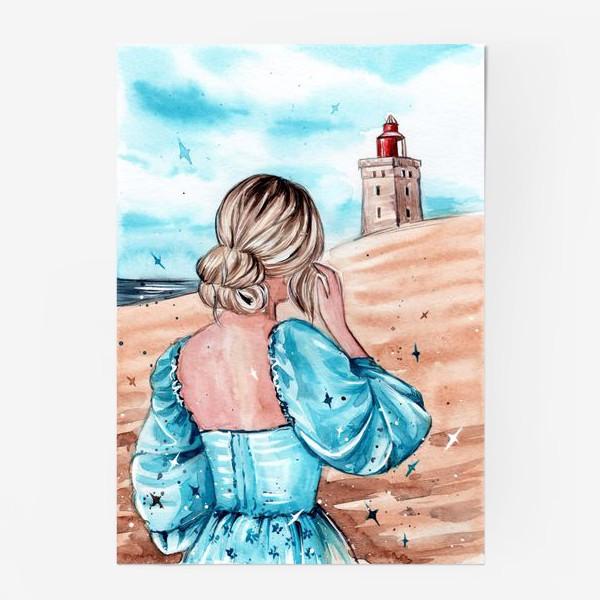 Постер «голубые грёзы»