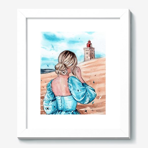 Картина «голубые грёзы»