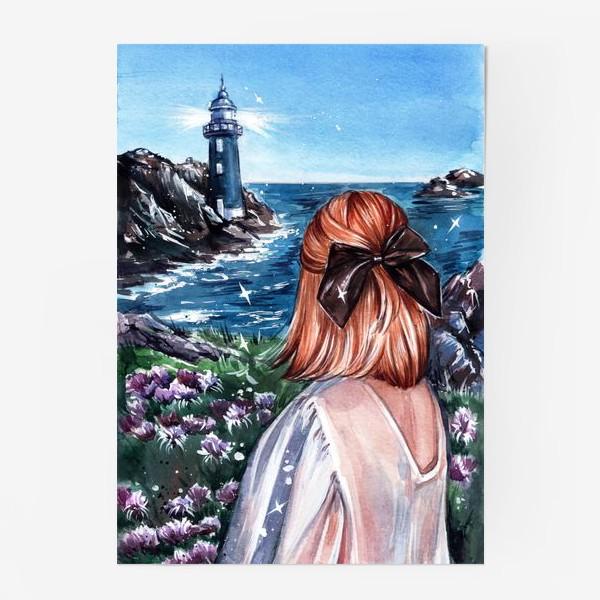 Постер «маяк»