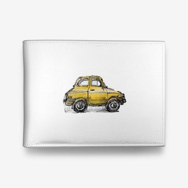 Кошелек «желтая машина»