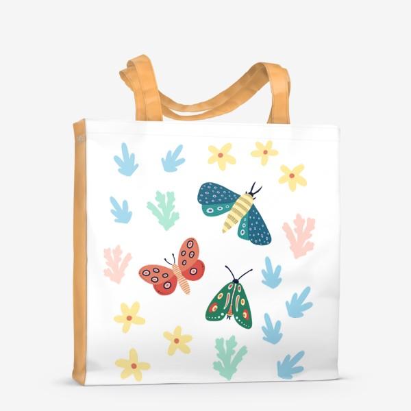 Сумка-шоппер «Бабочки »