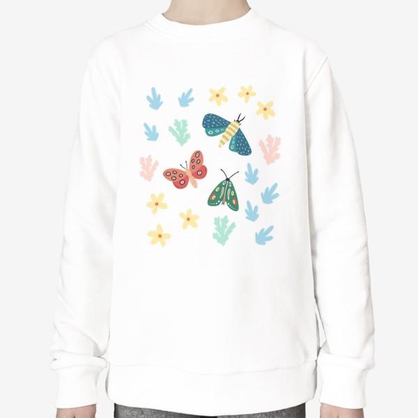 Свитшот «Бабочки »