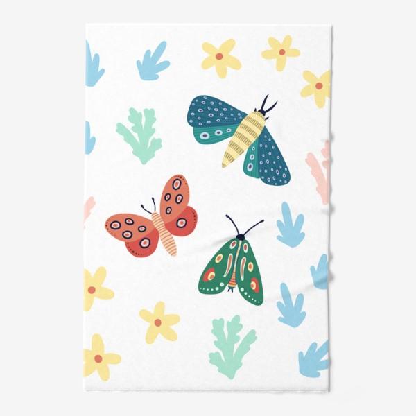 Полотенце «Бабочки »