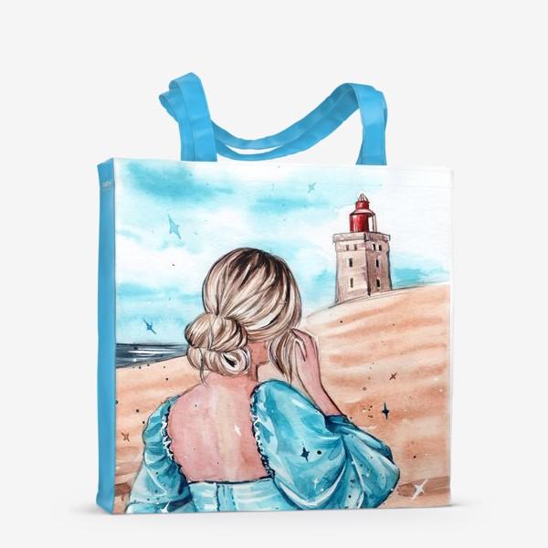 Сумка-шоппер «голубые грёзы»