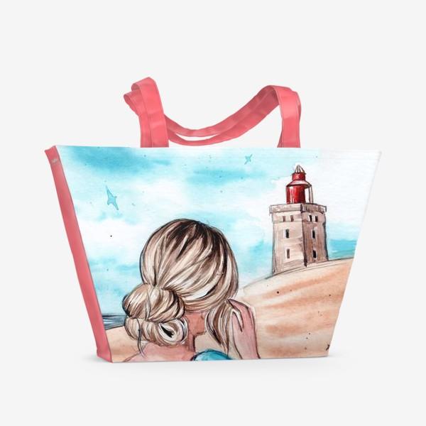 Пляжная сумка «голубые грёзы»