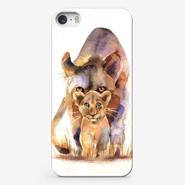 Чехол iPhone «ЛЬВИЦА И МАЛЫШ»