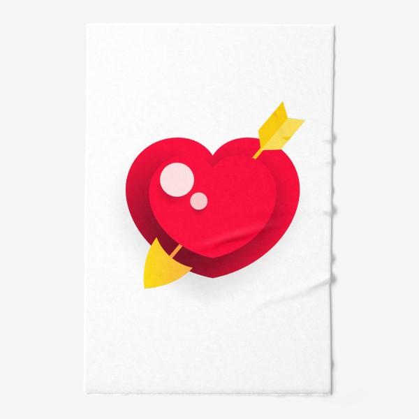 Полотенце «Сердце»