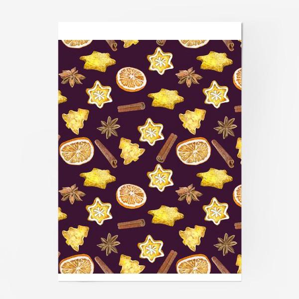 Постер «печенье и пряности »