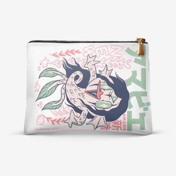 Косметичка «Русалка Амабиэ Ёкай - Японская мифология»