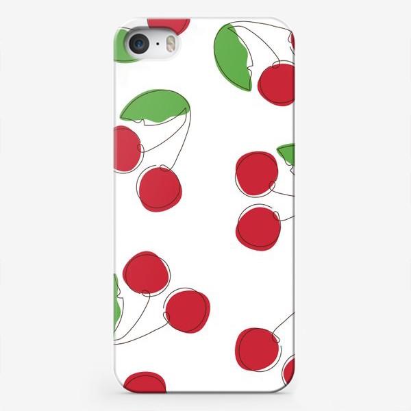 Чехол iPhone «Вишня/черешня»
