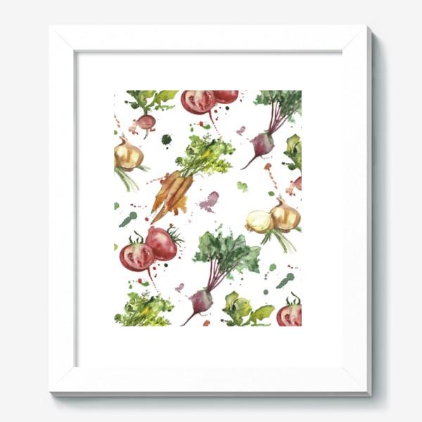 Картина «овощи»