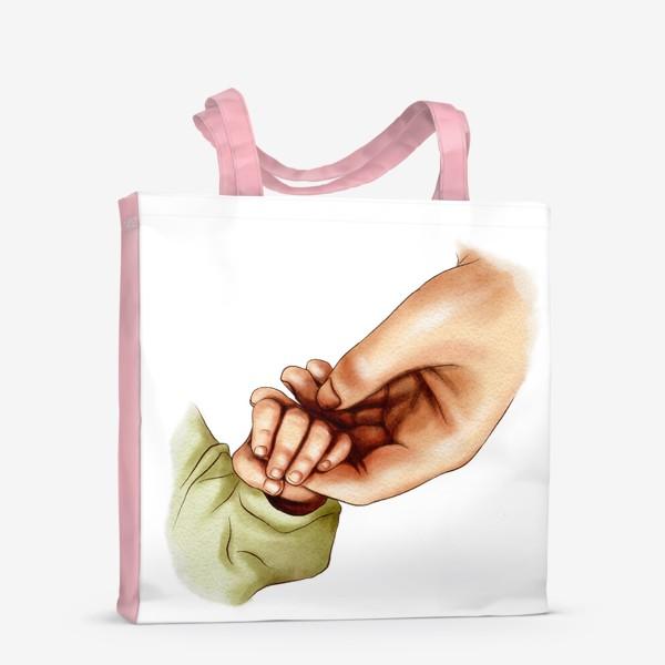 Сумка-шоппер «Рука матери и ребенка»