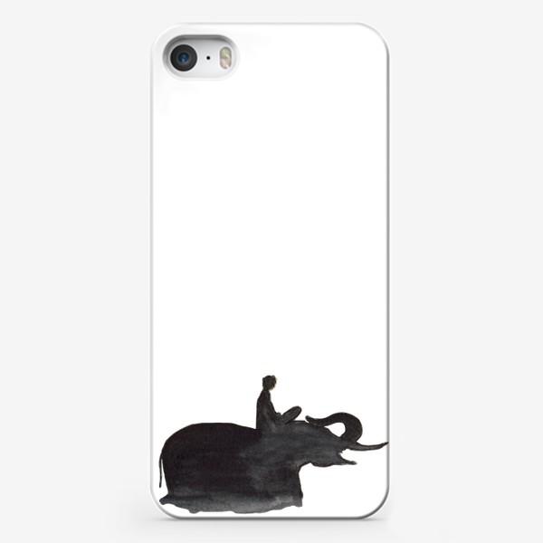 Чехол iPhone «На слоне. Верхом на мечте...»