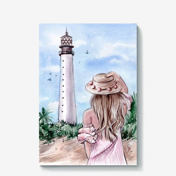 Холст «маяк Майами»