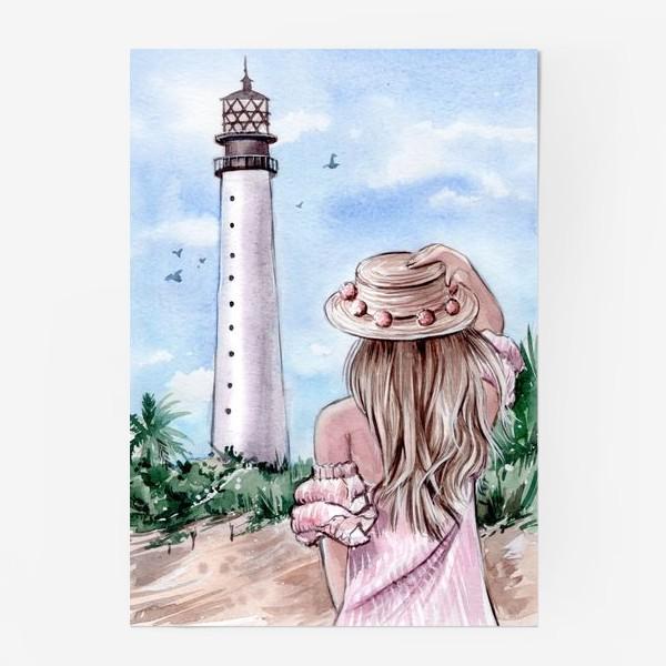 Постер «маяк Майами»