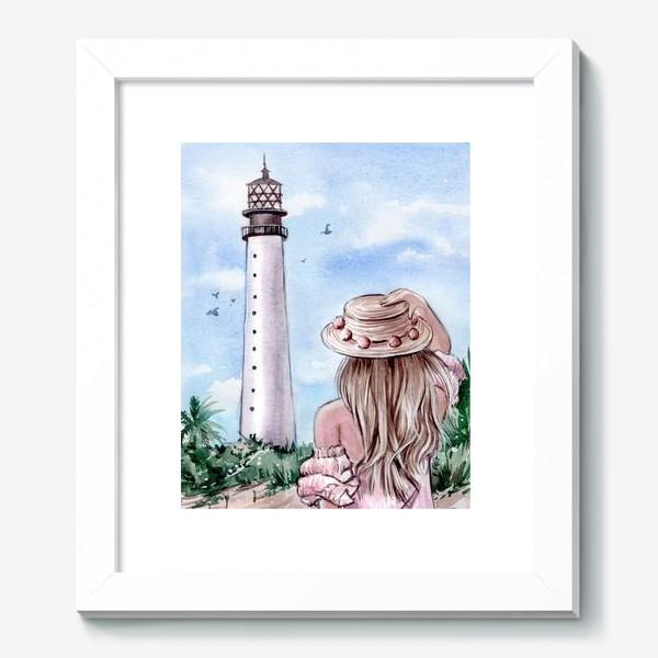 Картина «маяк Майами»