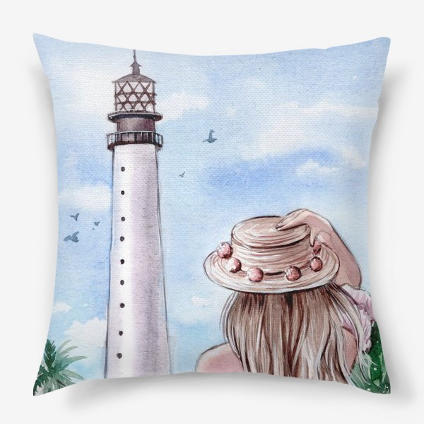 Подушка «маяк Майами»