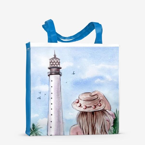 Сумка-шоппер «маяк Майами»