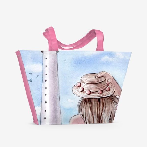 Пляжная сумка «маяк Майами»