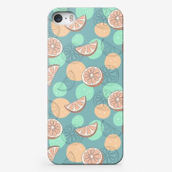 Чехол iPhone «Грейпфрут»