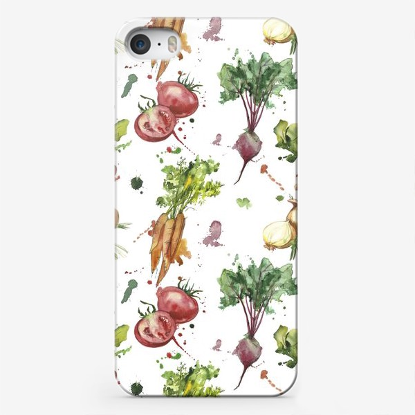 Чехол iPhone «овощи»
