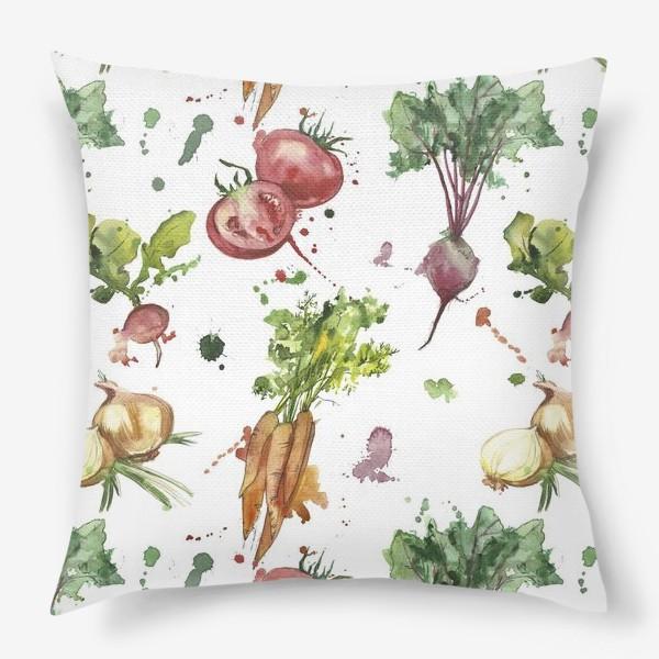 Подушка «овощи»
