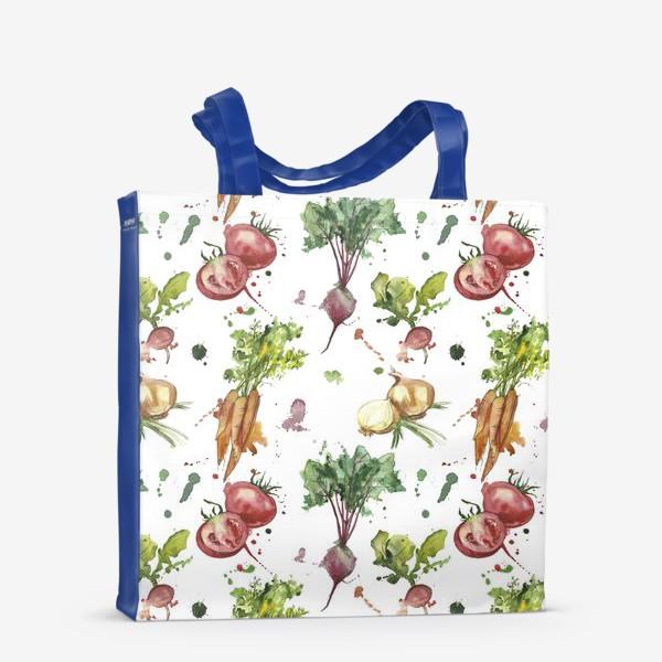 Сумка-шоппер «овощи»