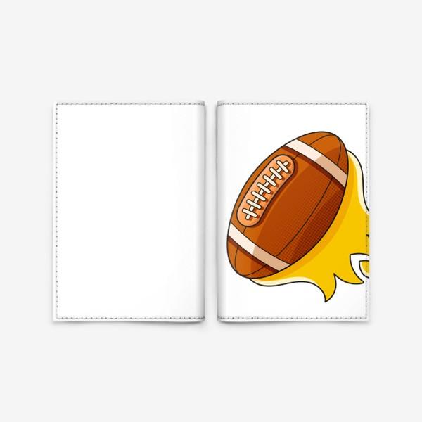 Обложка для паспорта «Мяч»