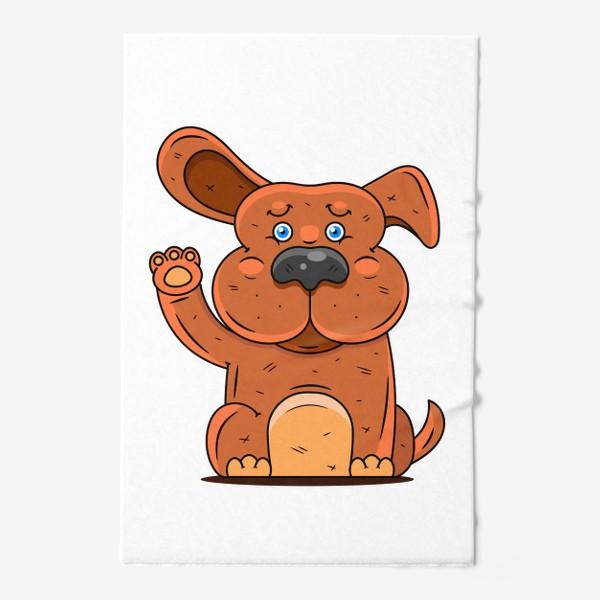 Полотенце «Собака»