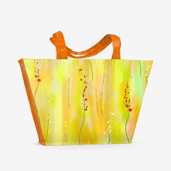Пляжная сумка «летний луг»
