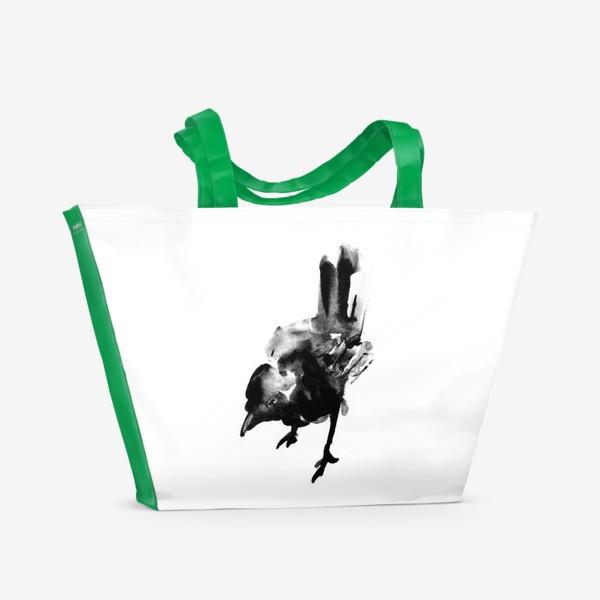 Пляжная сумка «Птичка Birdy»