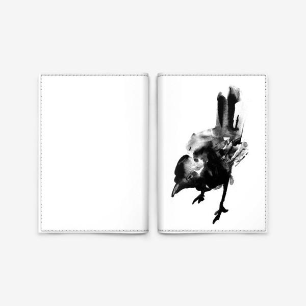 Обложка для паспорта «Птичка Birdy»