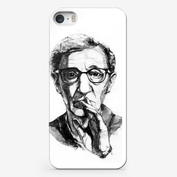 Чехол iPhone «Woody Allen»