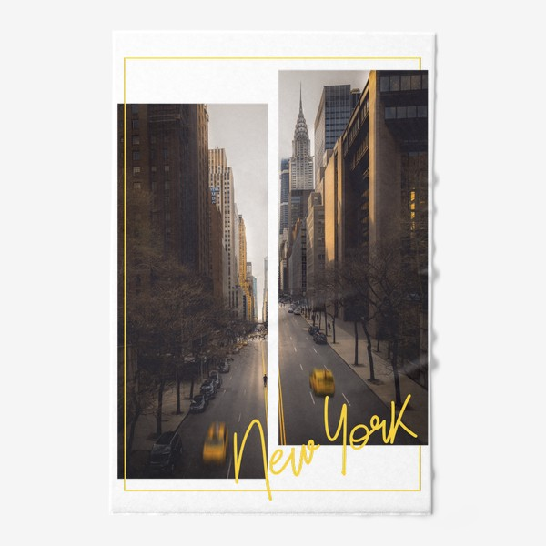 Полотенце «Нью-Йорк. США»
